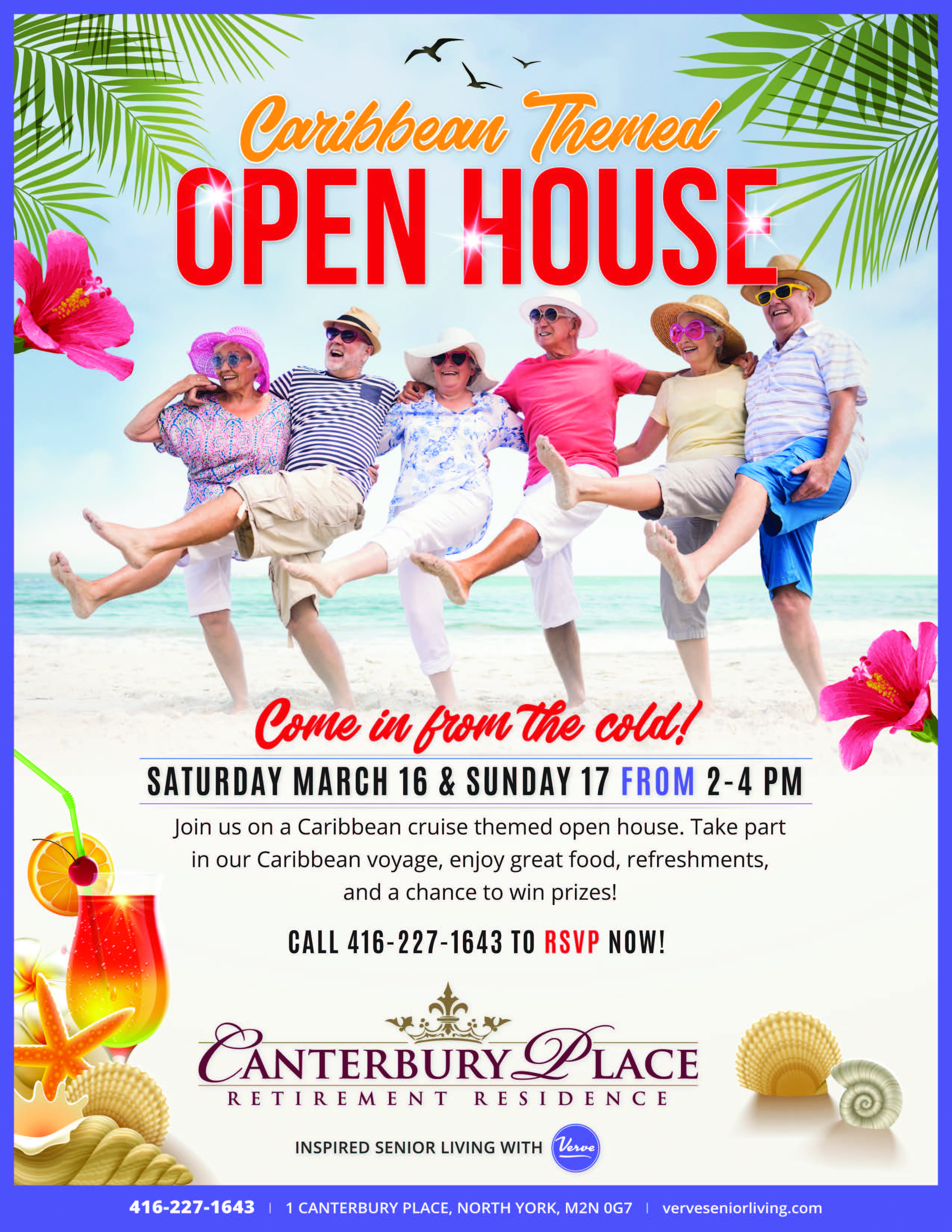 Canterbury Place Caribbean Themed Open House