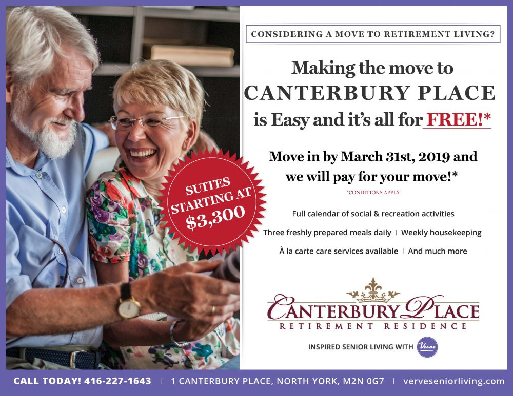 Canterbury Place Retirement Residence