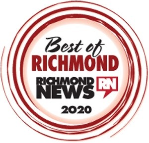 Best of Richmond Awards 2020, 2019, 2018's Award Image