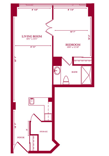 University II Floorplan
