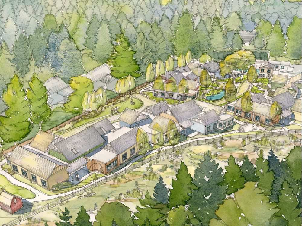 Artists Rendering of The Village
