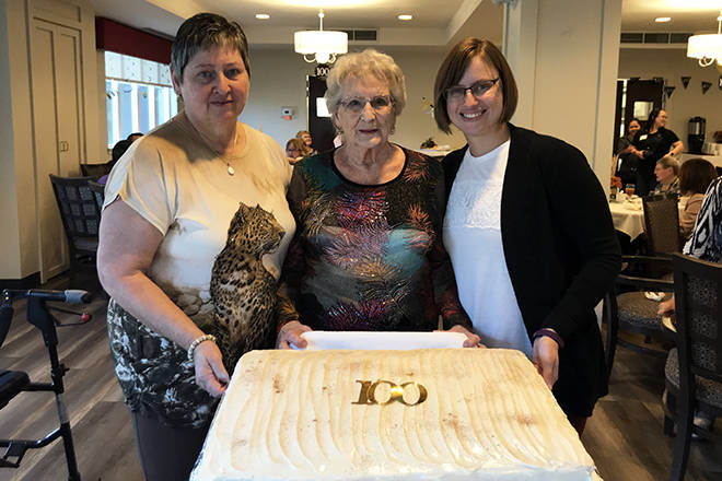 Concorde resident Breezy Johnson turns 100 years old