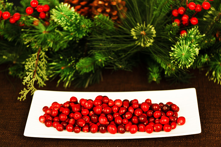 Living Loving Local for December is Cranberries