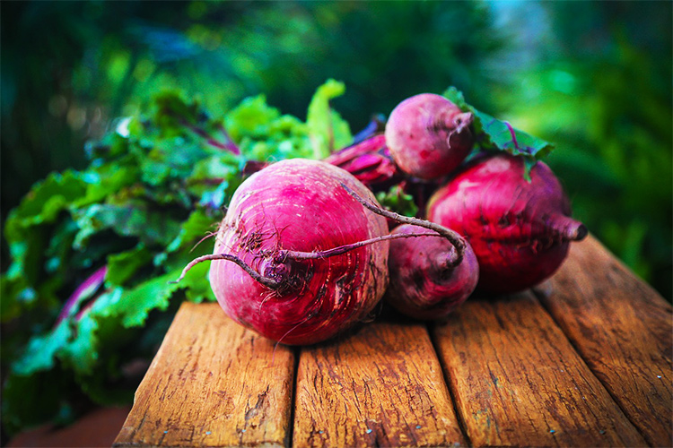 Living Loving Local for February: Beets