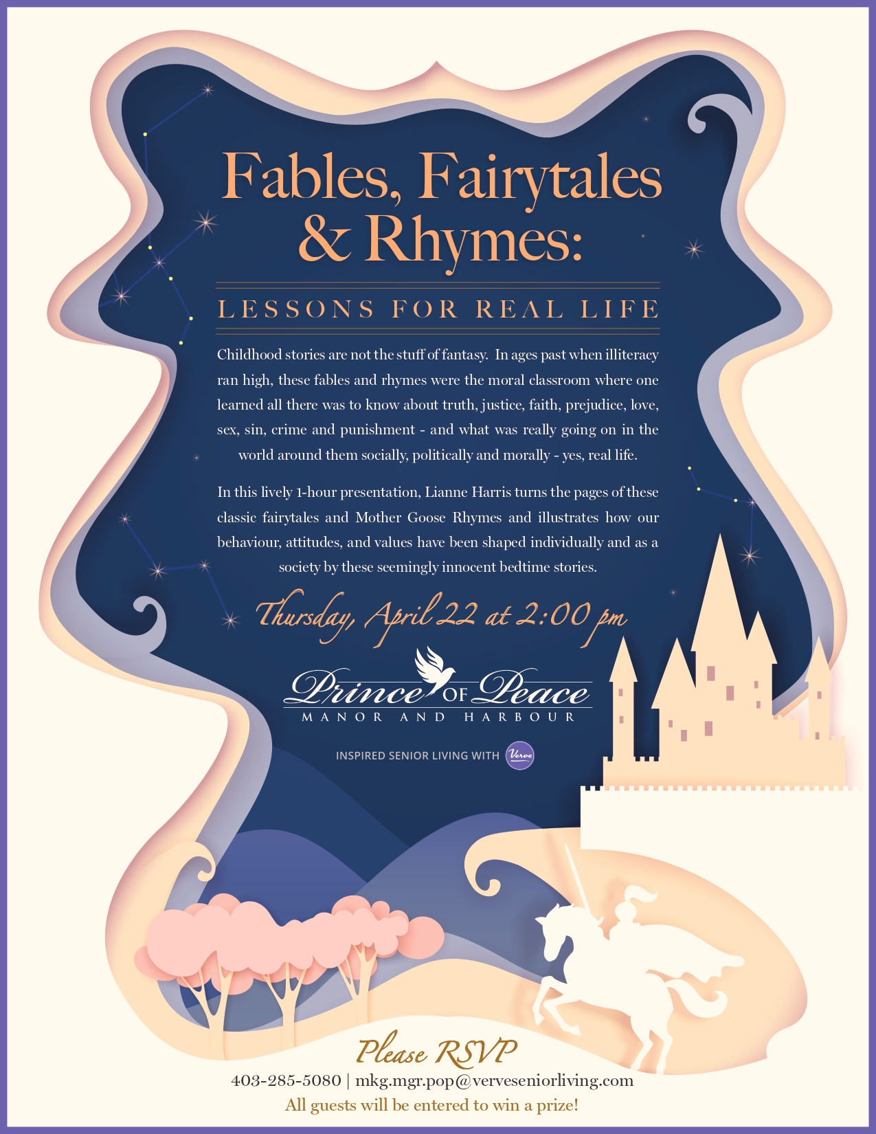 Virtual Event | Fables, Fairytales & Rhymes
