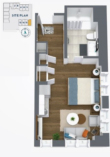 Assisted Living/Memory Care Floorplan