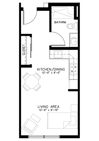 Studio Floorplan
