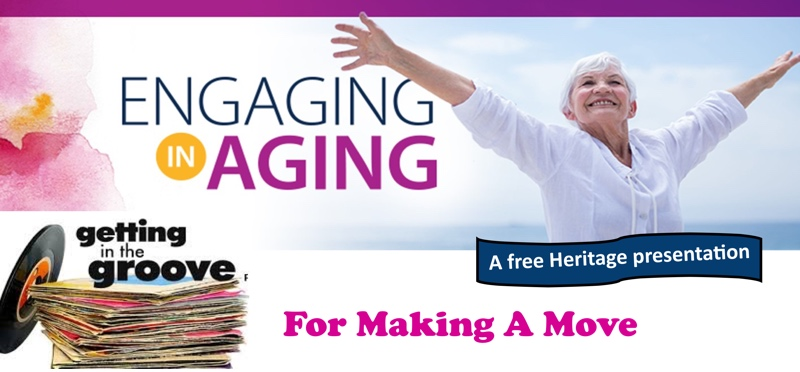 View The Heritage: Engaging in Aging Workshop Flyer