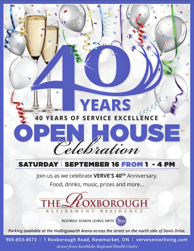 40 Years Open House