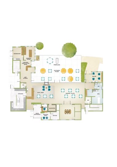 Community Center Floorplan